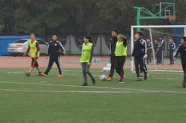Fußball in Peking